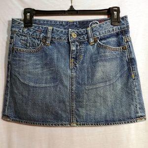 GAP 1969 Denim Jean Mini Skirt 0